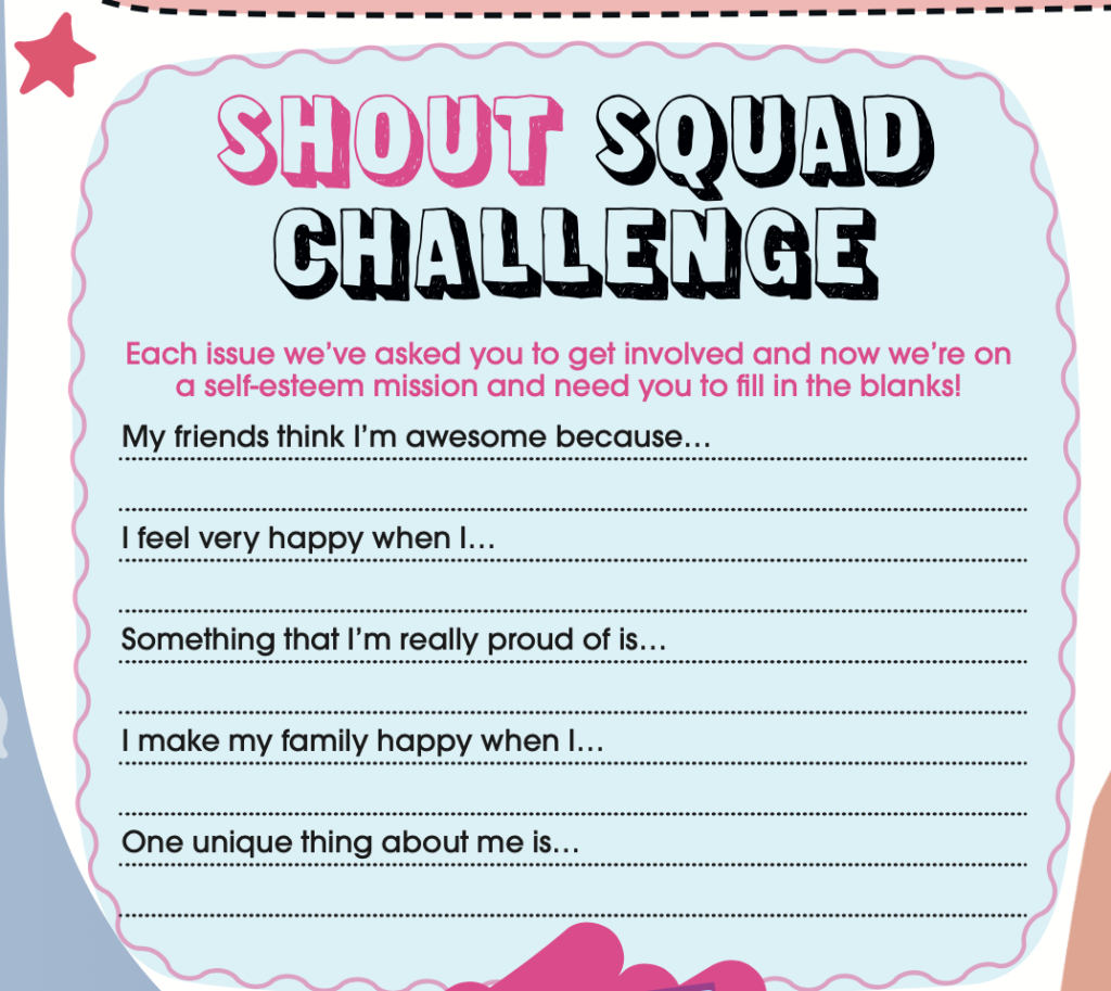 #SHOUTLOUD