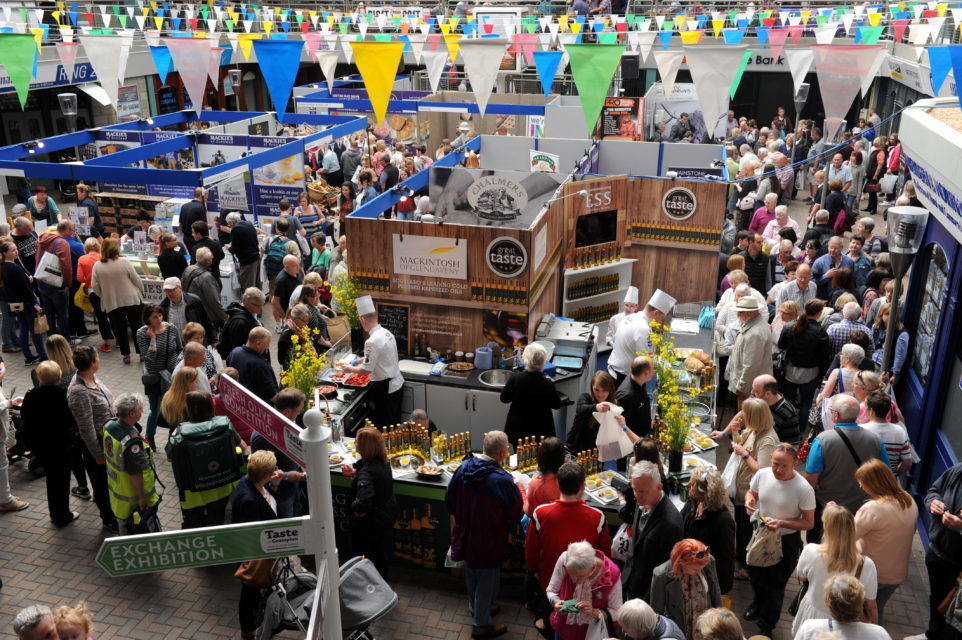 This year's Taste of Grampian event is being held on Saturday.