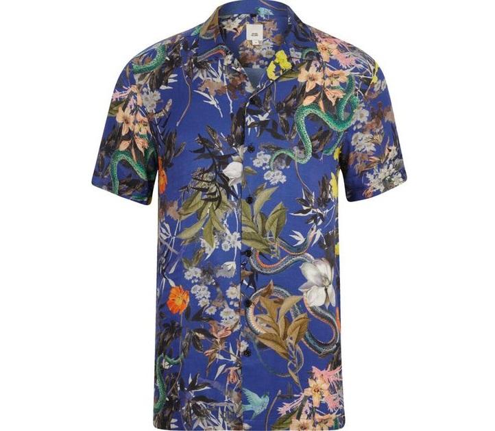 floral shirt men trend summer
