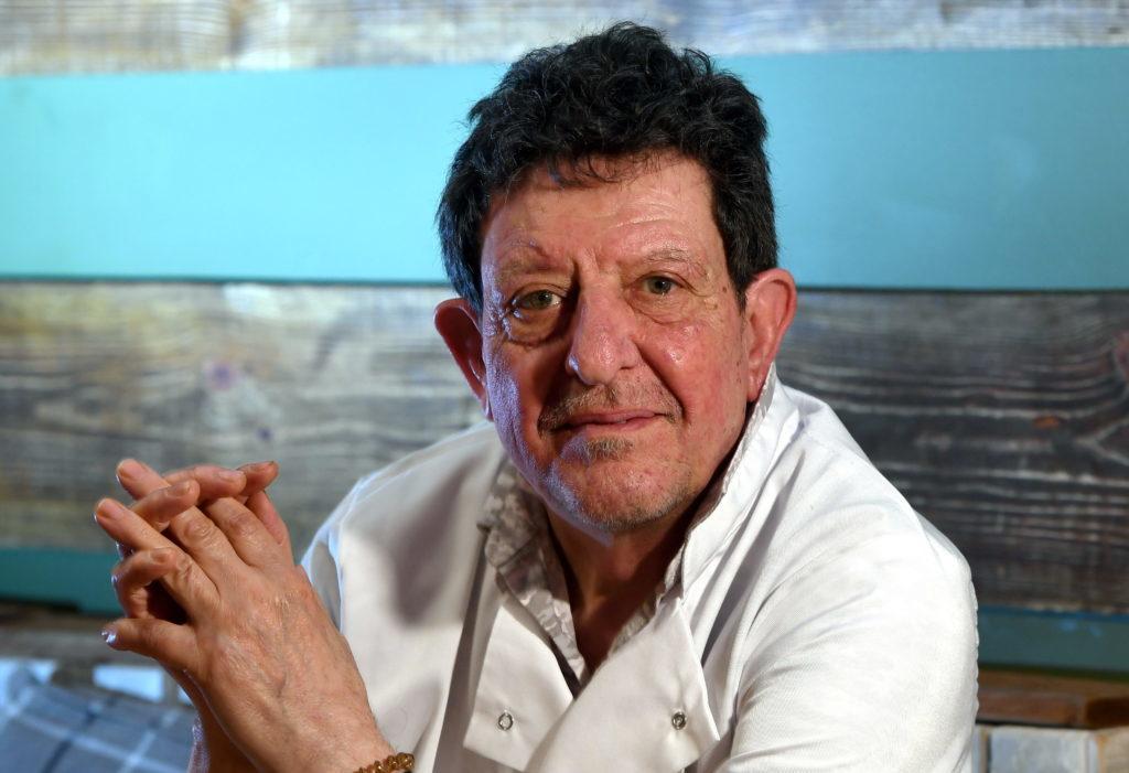 Head chef Franco Campo was a latecomer to the trade