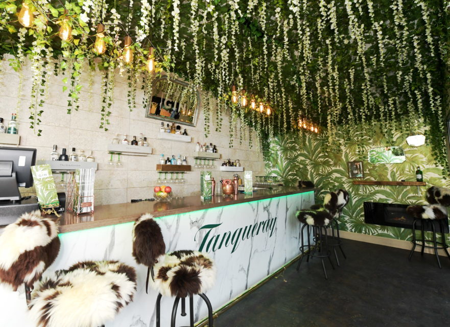 Cheers: Eat on the Green's new Gin Garden (Picture by Kath Flannery)
