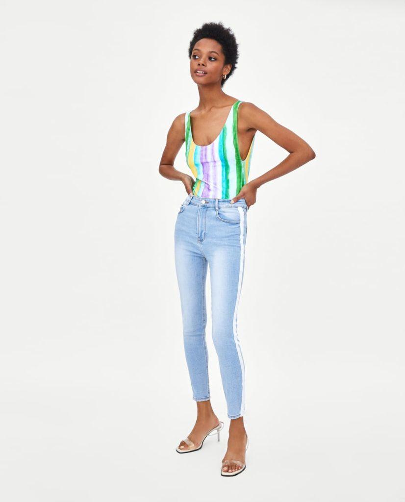 denim trend fashion outfit