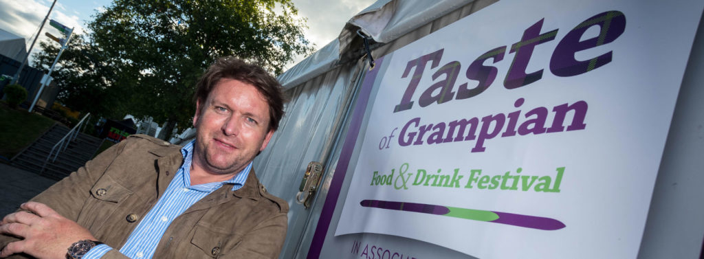James Martin will be appearing at this year's Taste of Grampian.