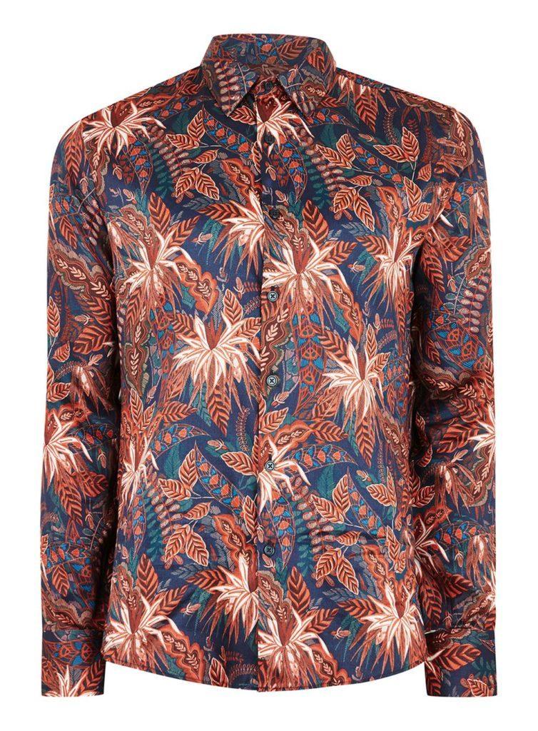 floral shirt men topman