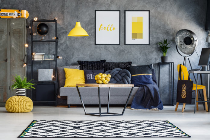 yellow homeware, homestyle trend