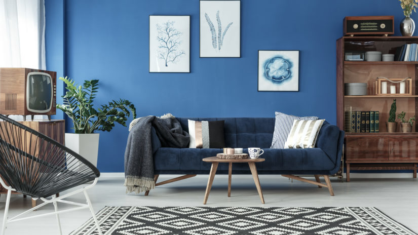 blue homeware ocean