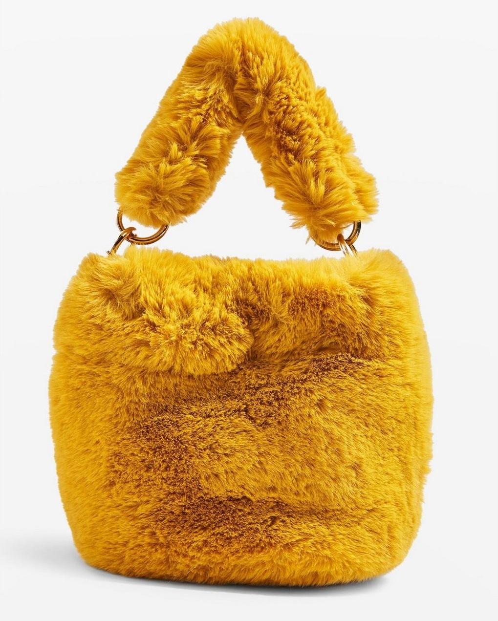 fluffy faux fur