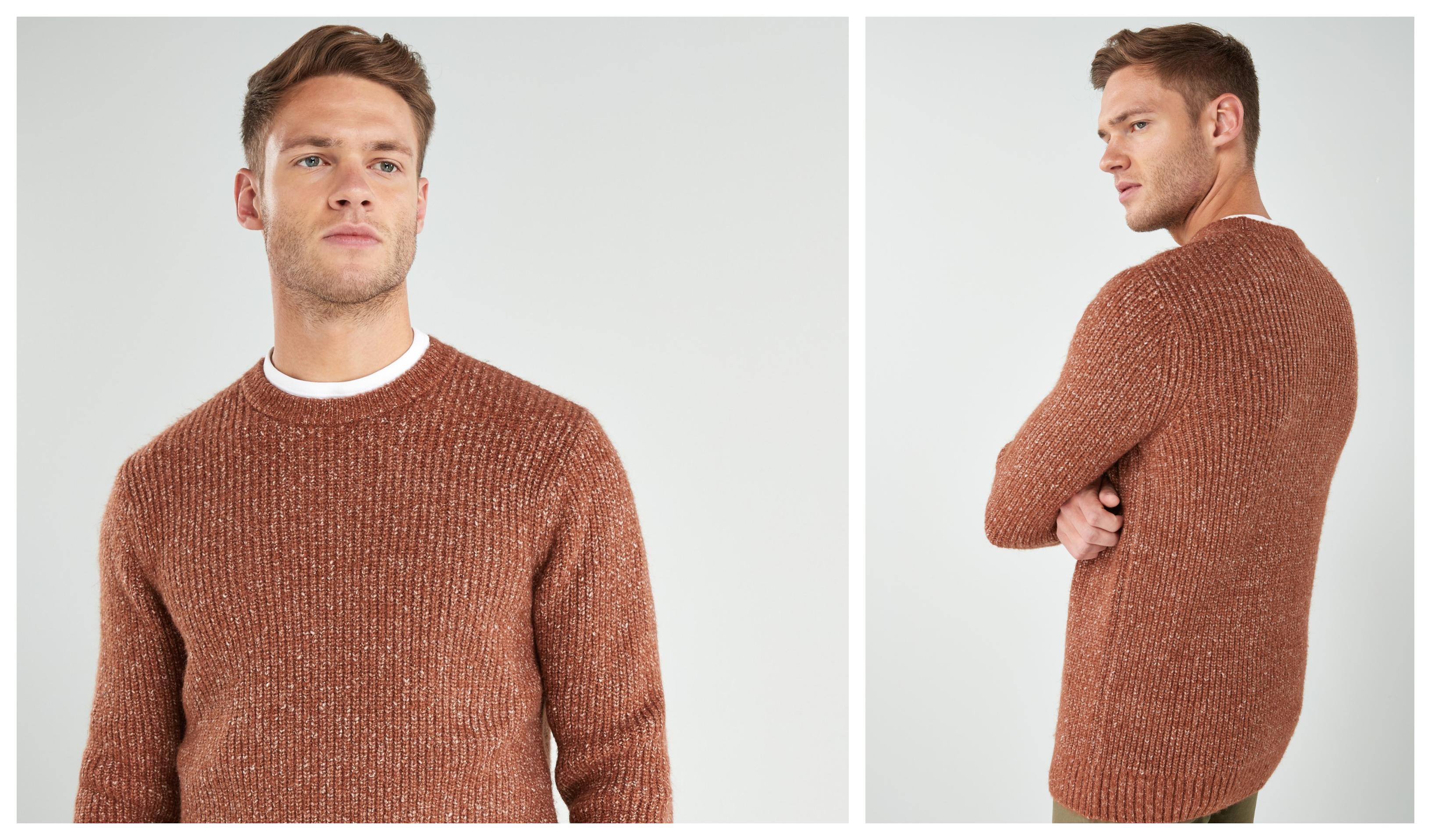 cosy knitwear men