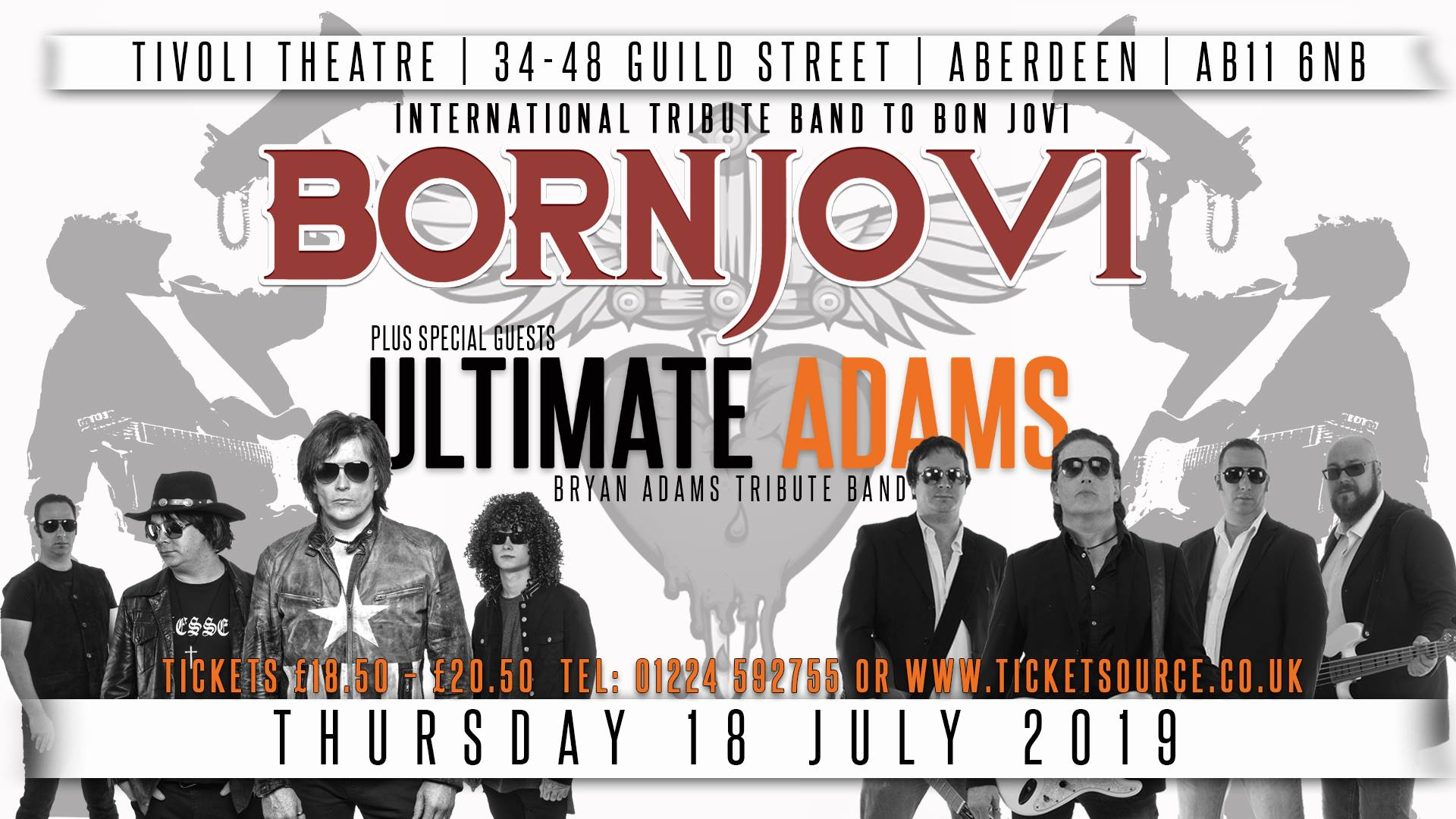 Bon Jovi Tribute Band To Perform In Aberdeen Society