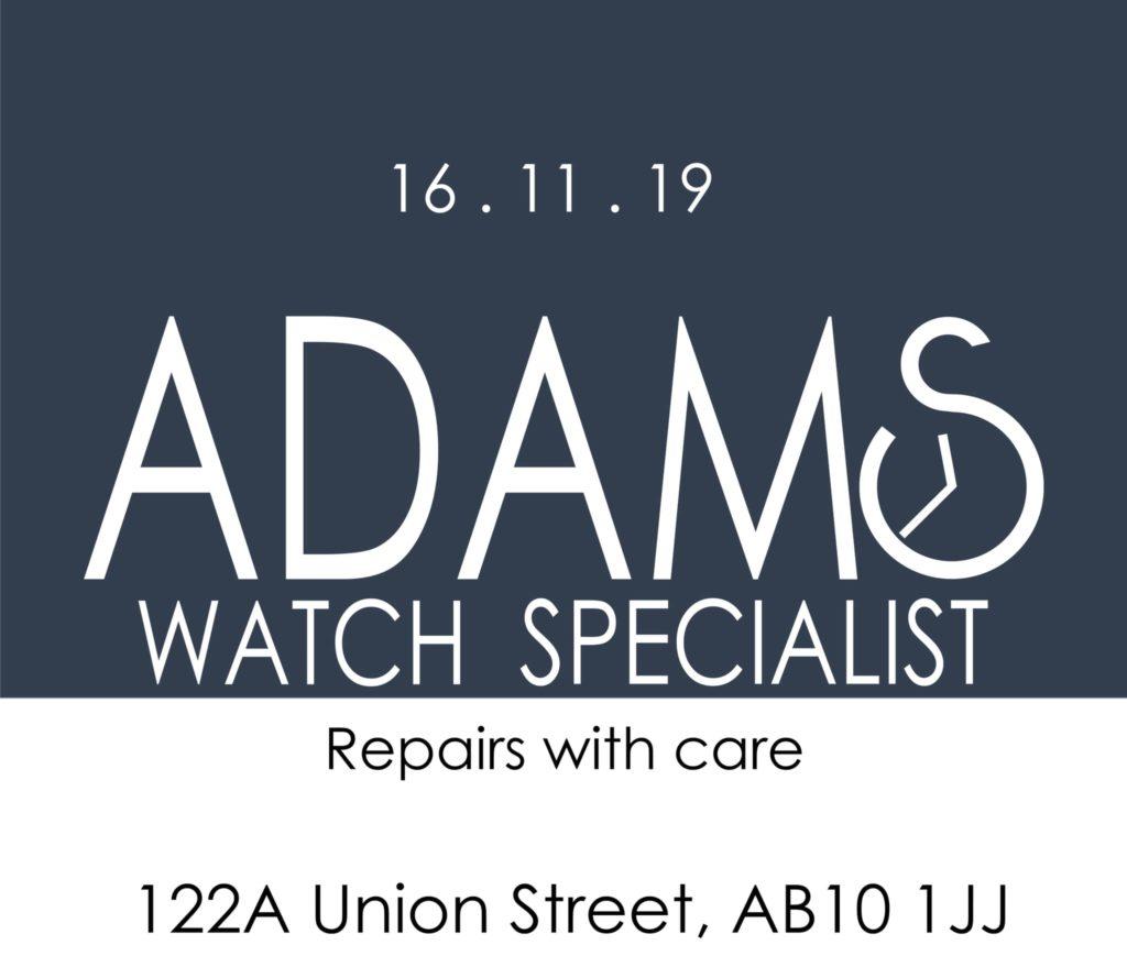 New Watch Specialist To Open In Aberdeen
