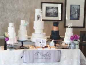 Design your dream wedding cake with Aberdeen's O'Caykx