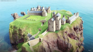 WATCH: Aberdeenshire castle is digitally restored
