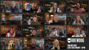 North-east beer giant BrewDog announces series of events for online bar