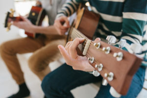 Be inspired to learn a musical instrument in your north-east home
