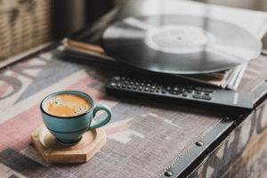 Aberdeen cafe now offers coffee and vinyl delivery service