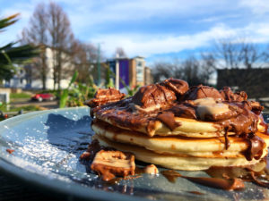 How to make Cafe Ahoy's Gluten-Free and Dairy-Free Pancake Stacks