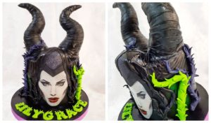 Aberdeenshire baker creates Maleficent-inspired cake