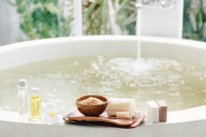 Let the day soak away in the bath – moisturising bath oils to buy in the north-east