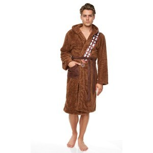 A bathrobe designed to look and feel just like Chewie's wooly fur
