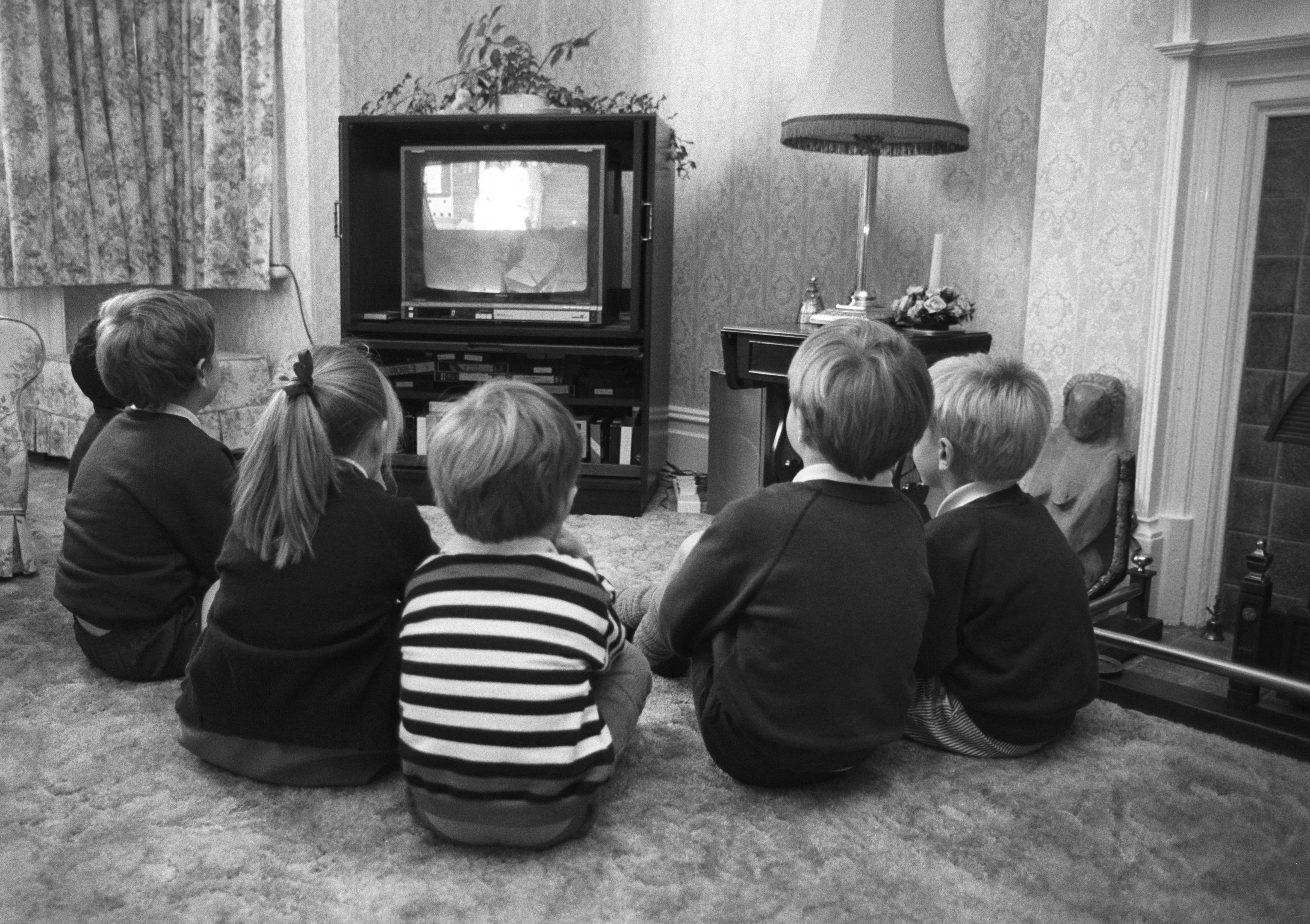 Jackanory had kids gathered round the TV (Getty Images)
