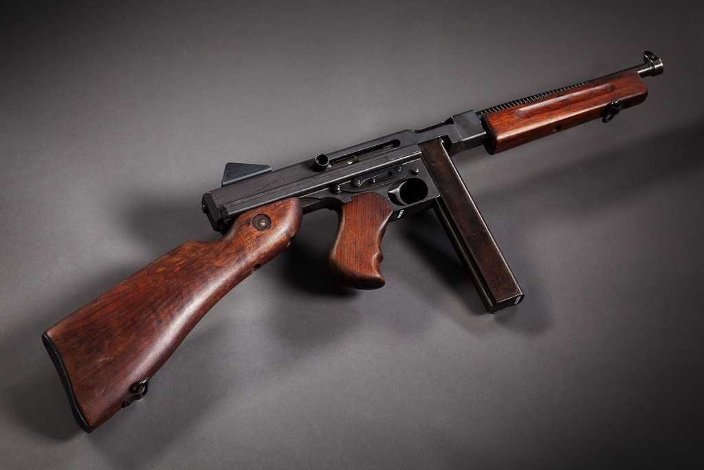 Tommy gun  (Eric Jamison / Studio J)
