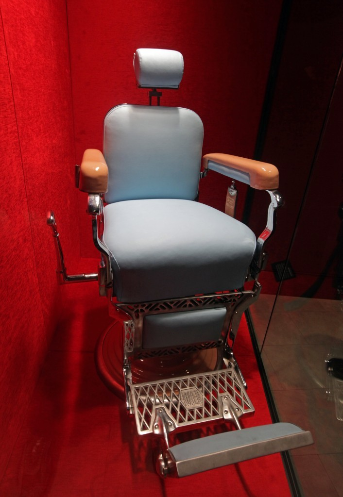 Barber's chair (John Gurzinski/ lasvegasphotography.com)