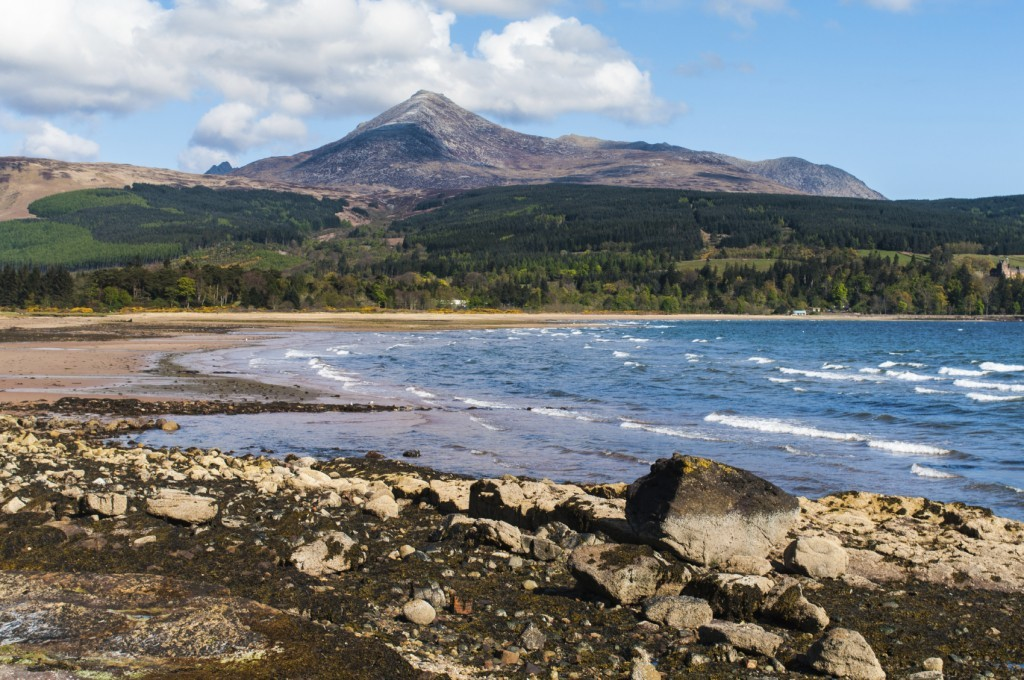 Arran Coastal Way - It can take seven days to complete this 65-mile circular walk that starts and finishes at Brodick, but there are one-day sections.