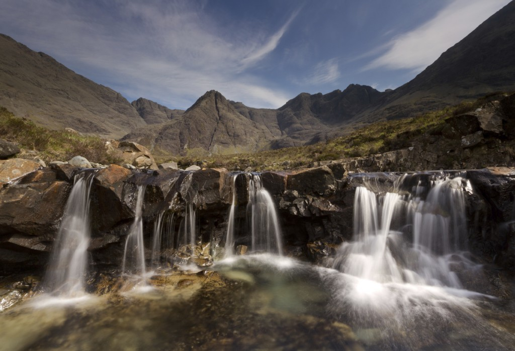Skye Trail - Aimed at more adventurous walkers, this 80-mile route takes in part of the Trotternish Ridge and passes benrath the Cuillin.