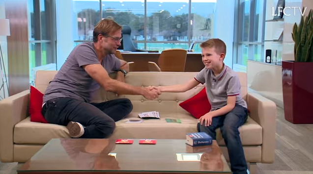 Jurgen meets Isaac (LFC TV)