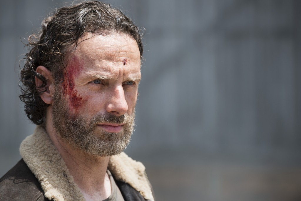 Andrew Lincoln as Rick Grimes in The Walking Dead (Gene Page/AMC)