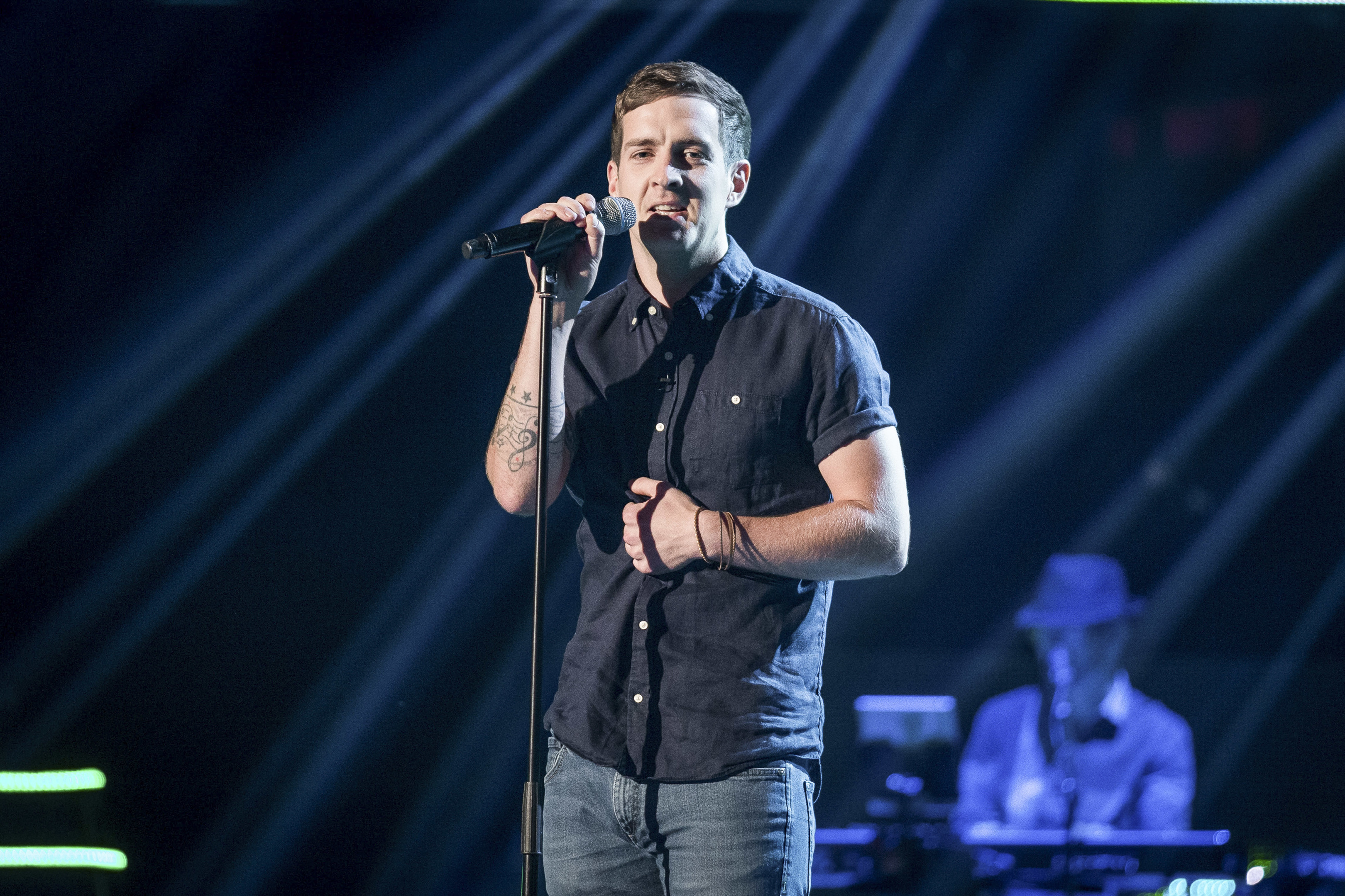 Stevie McCrorie (Guy Levy / BBC)