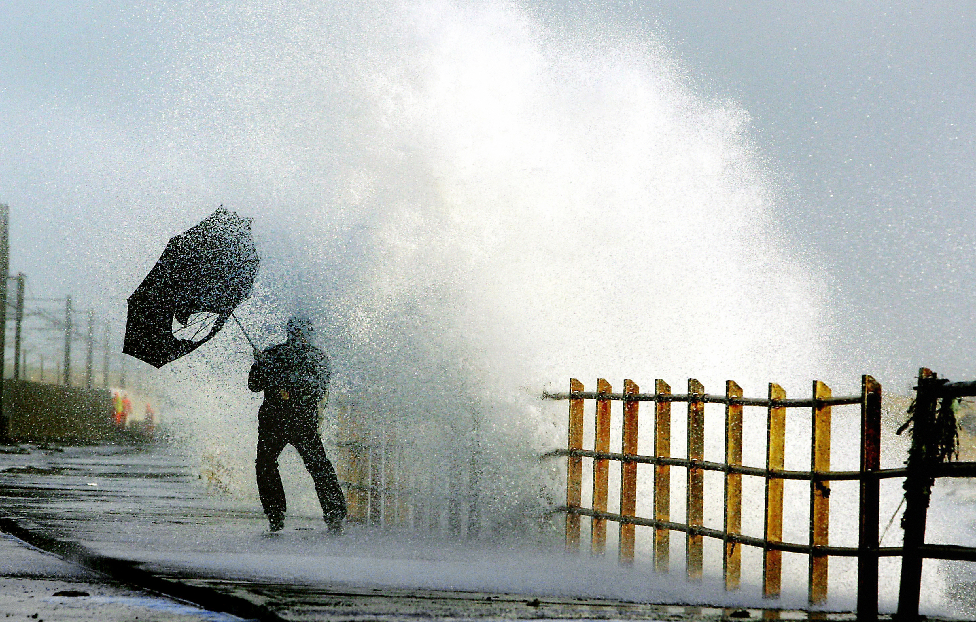 Scotland is set for a wet and windy Christmas
