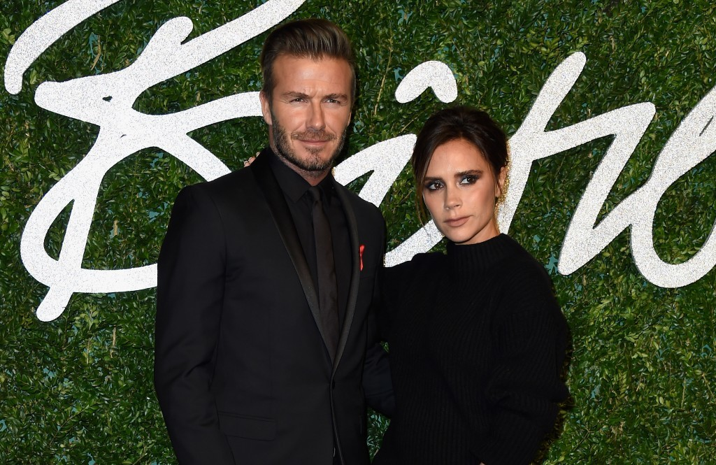 David and Victoria Beckham (Photo by Pascal Le Segretain/Getty Images)