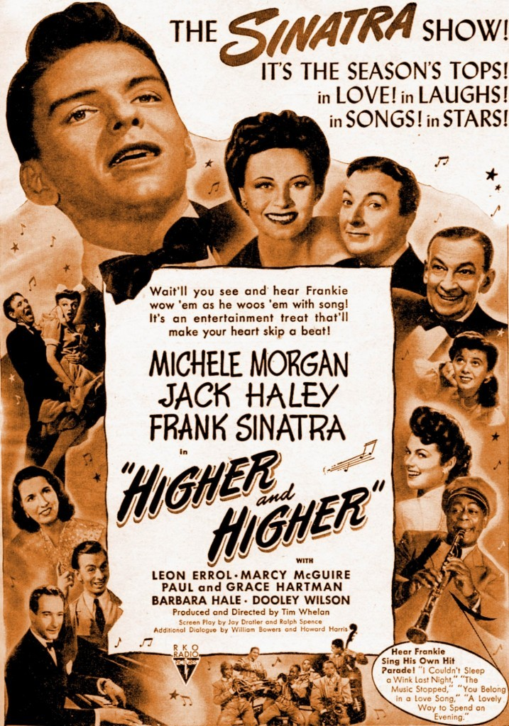 1943's Higher and Higher (RKO)