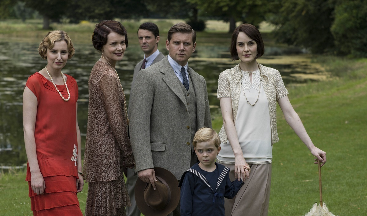 The Downton cast (ITV)