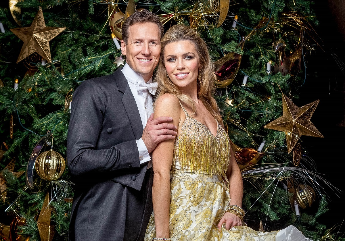 Brendan Cole and Abbey Clancy (BBC / Guy Levy)
