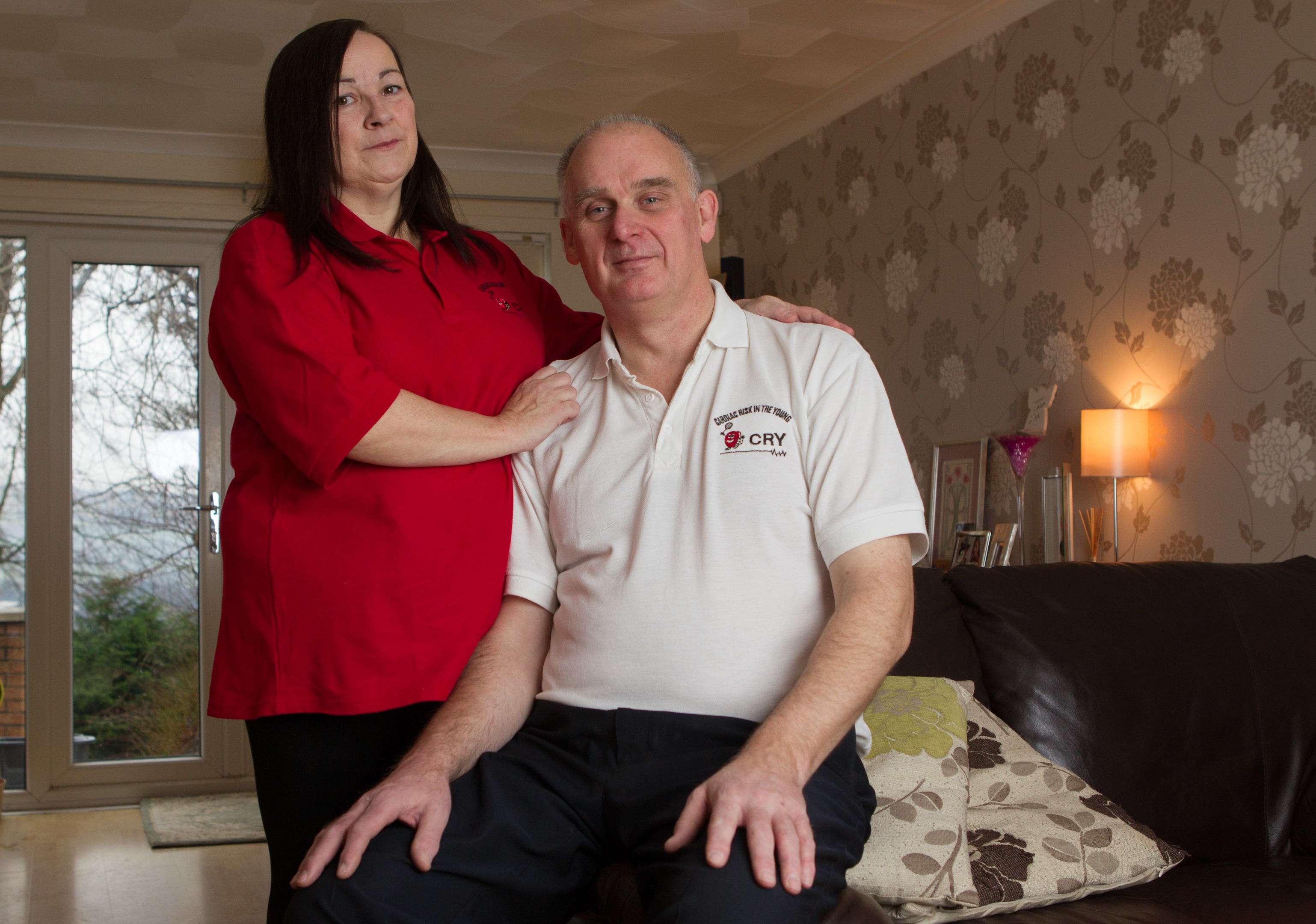 Irene and Ian Broughton lost their daughter Steffani suddenly in 2007 when she was just 17 due to cardiac problems (Chris Austin / DC Thomson)