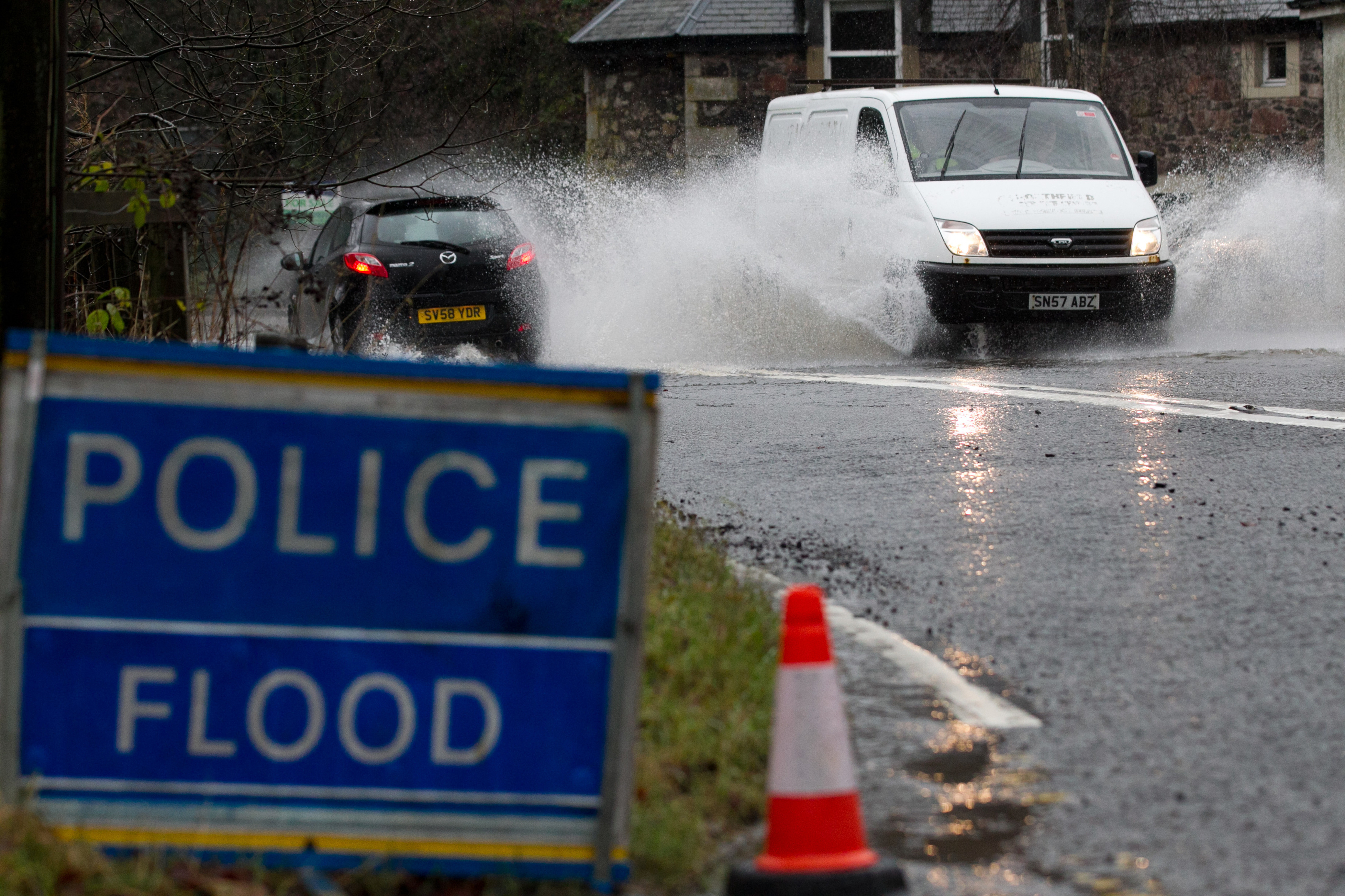 Flooding is set to become more common (Andrew Cawley / DC Thomson)