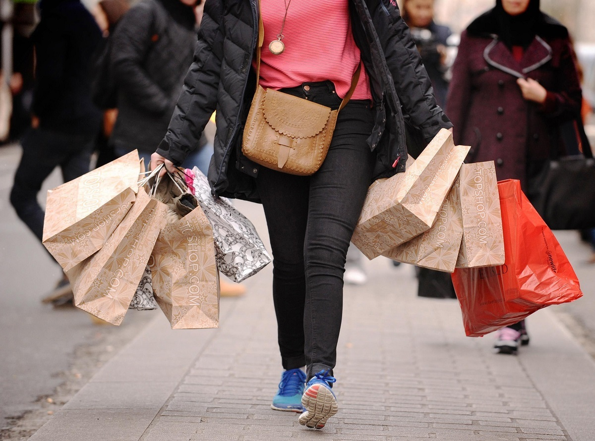 Shoppers will hit the streets today (Dominic Lipinski/PA)