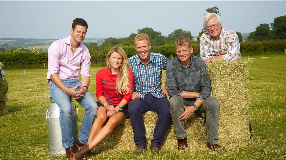 The Countryfile team, Matt Baker, Ellie Harrison, Adam Henson, Tom Heap and Jon Craven (BBC)