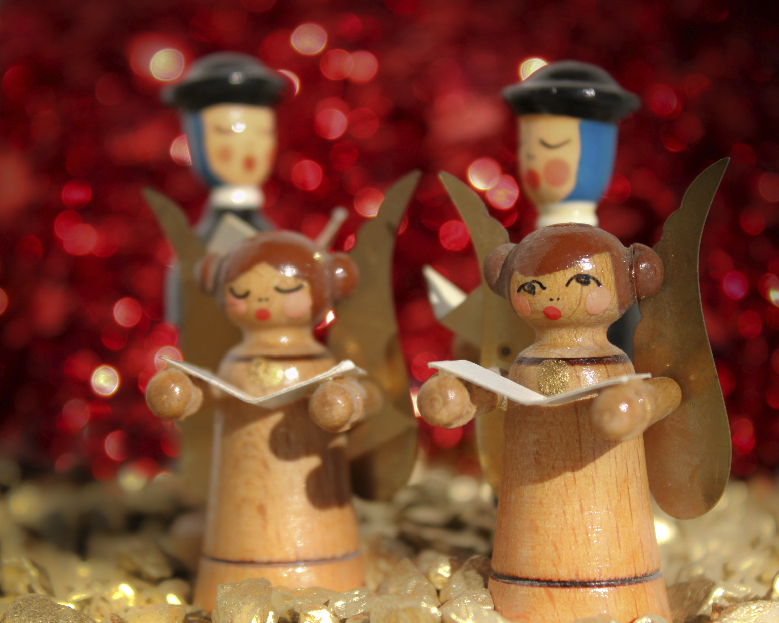 What's the origin of Christmas carols? (Getty Images)