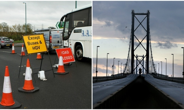 Forth Road Bridge (Dougie Nicolson / DC Thomson & Andrew Milligan / PA)