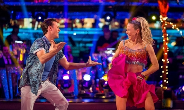 Kellie Bright with dancing partner Kevin Clifton (BBC)