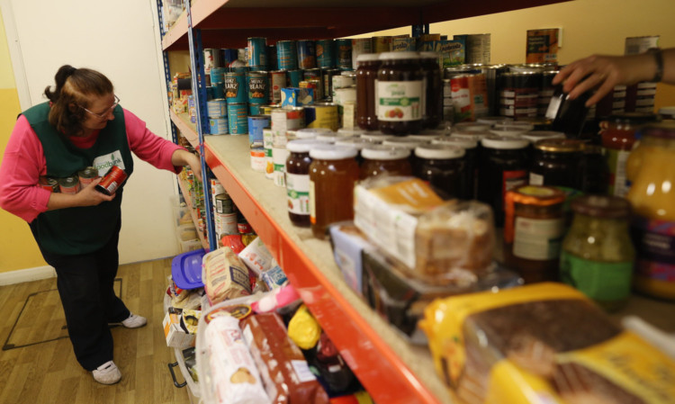 Food banks are operating in every area of Scotland and the number using them continues to rise.