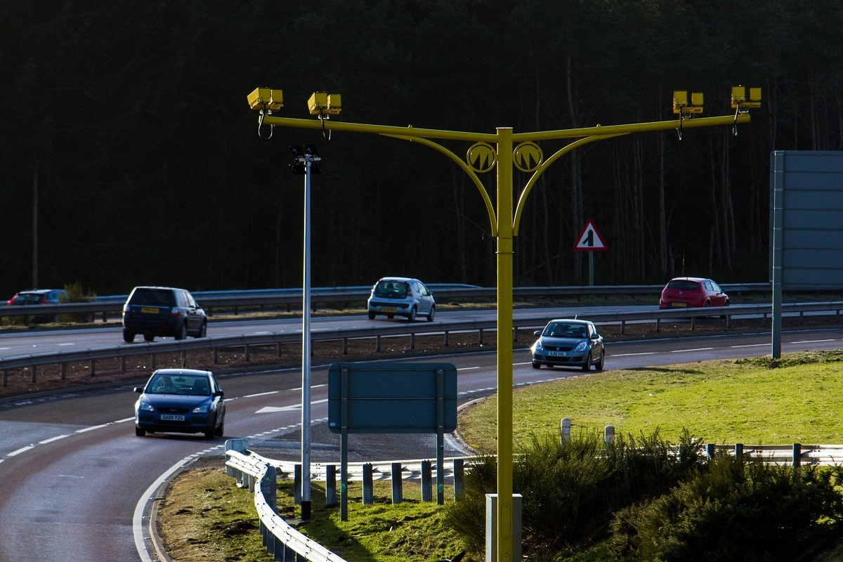 A9 average speed cameras (Steve MacDougall / DC Thomson)