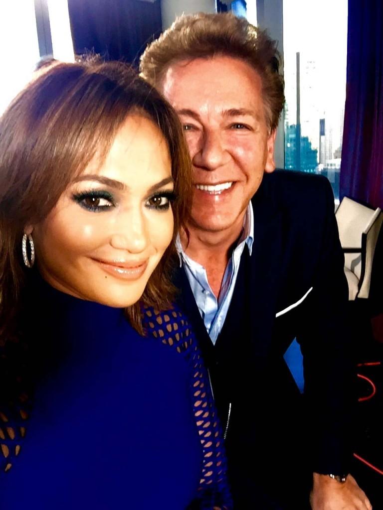 Ross king and Jennifer Lopez. October 2015