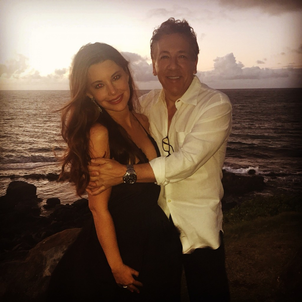 Ross king and his wife brianna