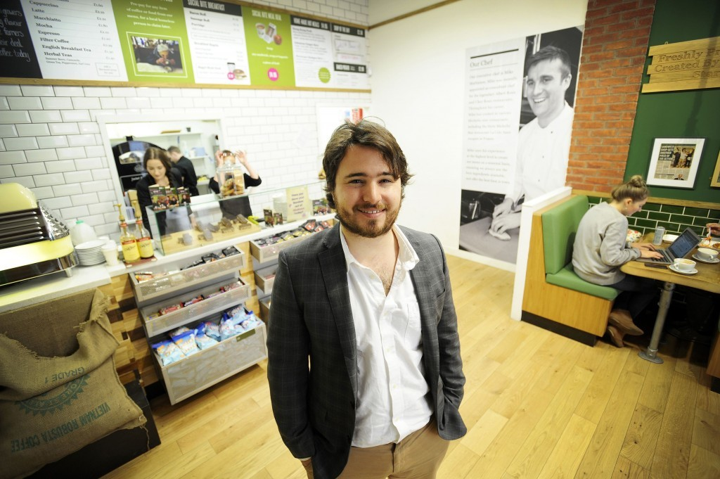Josh Littlejohn, owner of Social Bite(Andy Buchanan/Frame PR/PA Wire)