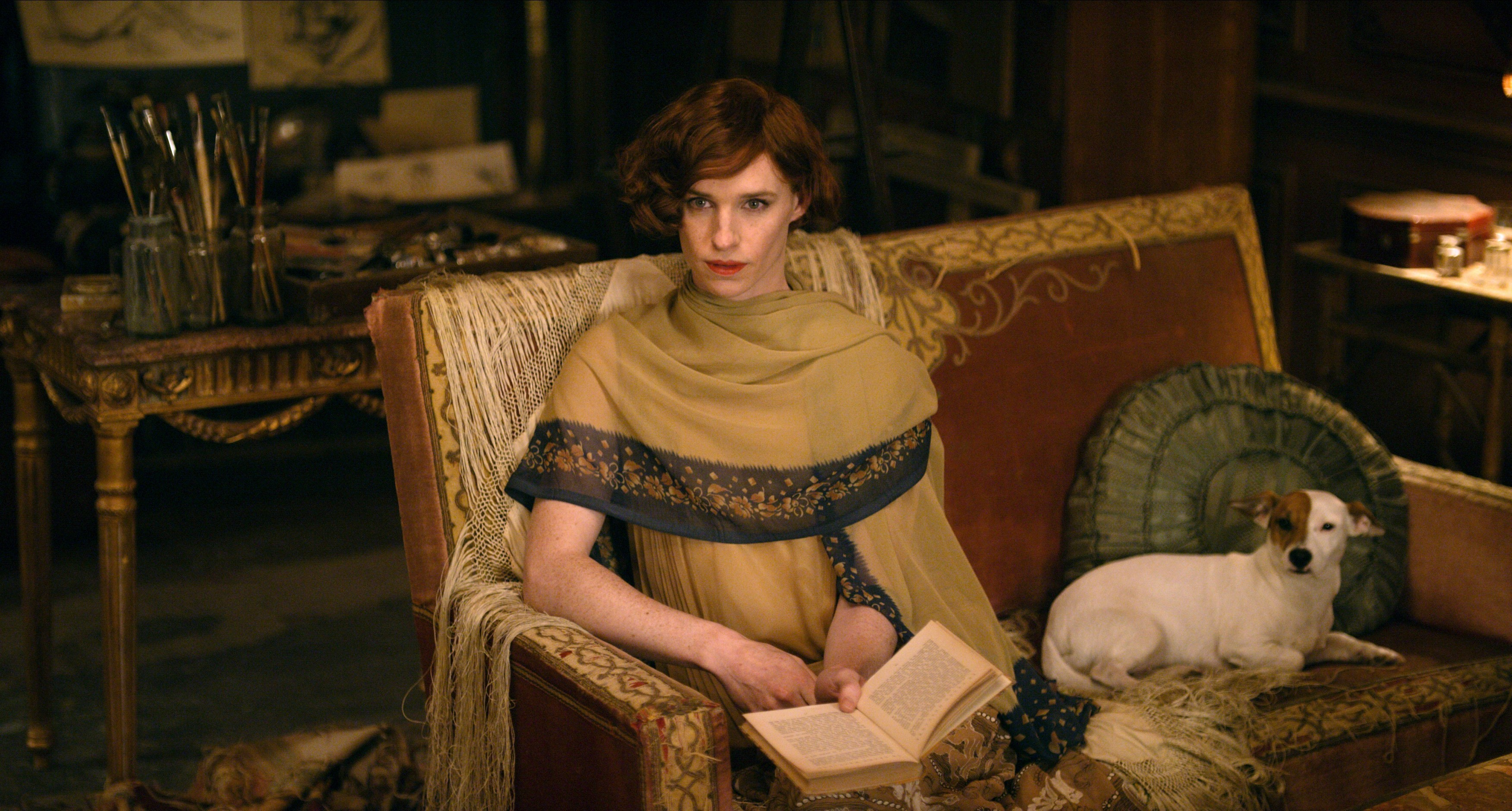 Eddie in The Danish Girl (Universal)