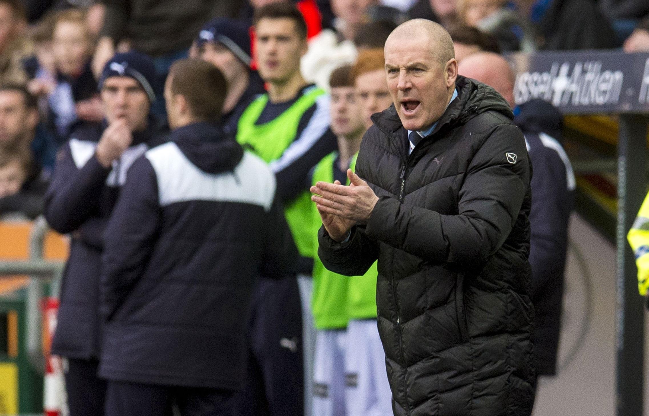 Rangers manager Mark Warburton (SNS Group)
